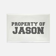 PROPERTY OF JASON-Fre gray 600 Magnets