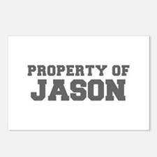 PROPERTY OF JASON-Fre gray 600 Postcards (Package