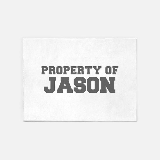 PROPERTY OF JASON-Fre gray 600 5'x7'Area Rug