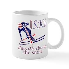 United States Ski snow fun design Mugs