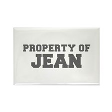 PROPERTY OF JEAN-Fre gray 600 Magnets