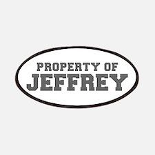 PROPERTY OF JEFFREY-Fre gray 600 Patch