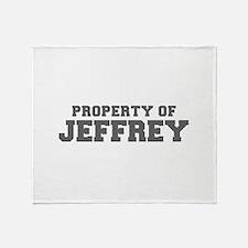 PROPERTY OF JEFFREY-Fre gray 600 Throw Blanket