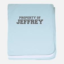 PROPERTY OF JEFFREY-Fre gray 600 baby blanket