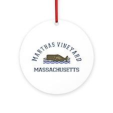 Martha's Vineyard. Ornament (round)