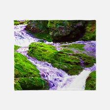 Waterfall Dreams Throw Blanket