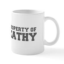 PROPERTY OF KATHY-Fre gray 600 Mugs