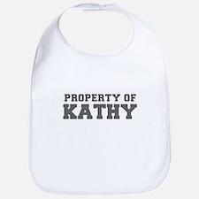 PROPERTY OF KATHY-Fre gray 600 Bib