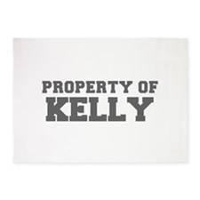 PROPERTY OF KELLY-Fre gray 600 5'x7'Area Rug