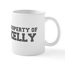 PROPERTY OF KELLY-Fre gray 600 Mugs