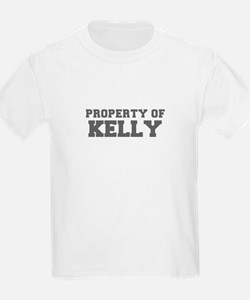PROPERTY OF KELLY-Fre gray 600 T-Shirt