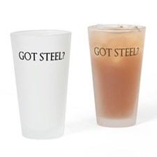 got steel Drinking Glass