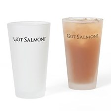 got salmon? Drinking Glass