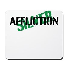 silver affliction Mousepad