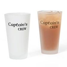 captains crew Drinking Glass