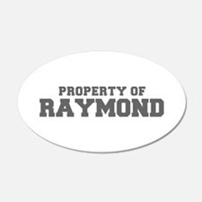 PROPERTY OF RAYMOND-Fre gray 600 Wall Decal