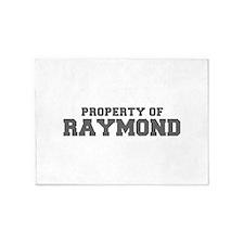 PROPERTY OF RAYMOND-Fre gray 600 5'x7'Area Rug
