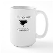 copper superpower Mugs