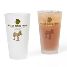 Cute Homesteading Drinking Glass