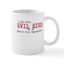 i fish with evil eyes Mugs