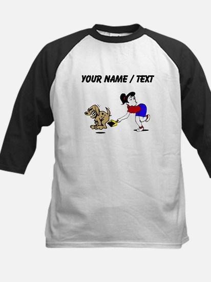 Custom Dog Pooper Scooper Baseball Jersey