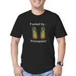 Fueled by Pineapple Men's Fitted T-Shirt (dark)