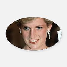 Stunning! HRH Princess Diana Oval Car Magnet