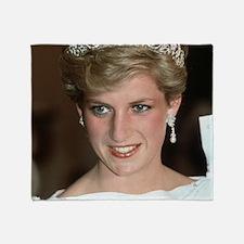 Stunning! HRH Princess Diana Throw Blanket