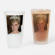 Stunning! HRH Princess Diana Drinking Glass
