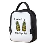 Fueled by Pineapple Neoprene Lunch Bag