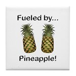 Fueled by Pineapple Tile Coaster