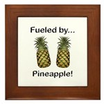 Fueled by Pineapple Framed Tile