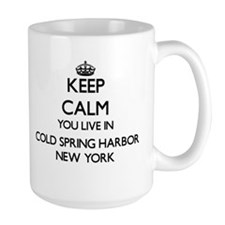 Keep calm you live in Cold Spring Harbor New Mugs