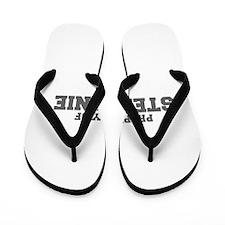 PROPERTY OF STEPHANIE-Fre gray 600 Flip Flops