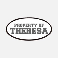 PROPERTY OF THERESA-Fre gray 600 Patch