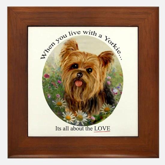 Dog Ceramic Tile Framed Tile