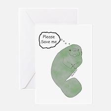 Save Me Greeting Card