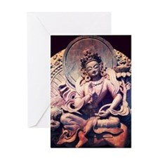 Tara Statue Greeting Card