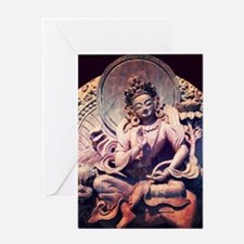 Tara Statue Greeting Card