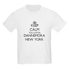 Keep calm you live in Dannemora New York T-Shirt