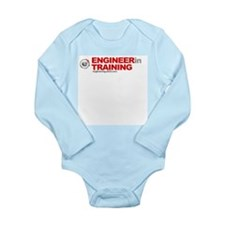 Funny Engineer Long Sleeve Infant Bodysuit