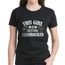 This Girl Is Getting Shamrocked Tee