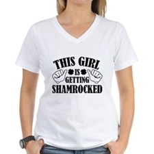 This Girl Is Getting Shamrocked Shirt