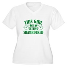 This Girl Is Getting Shamrocked T-Shirt