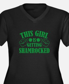 This Girl Is Getting Shamrocked Women's Plus Size