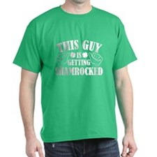This Guy Is Getting Shamrocked T-Shirt