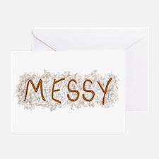 Messy Greeting Card