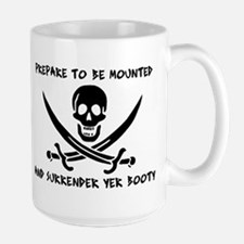 Surrender Yer Booty Mug