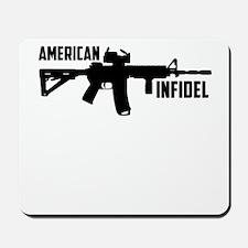 american infidel Mousepad