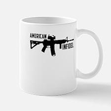 american infidel Mugs